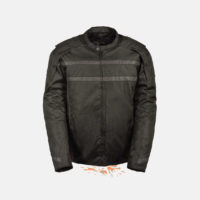 Nylon Motorcycle Jacket