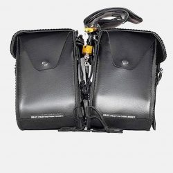 pvc saddlebags
