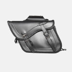 2 STRAP ZIP OFF PVC SADDLEBAG