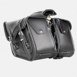 saddlebags motorcycle leather