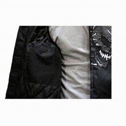 Skull Motorcycle Nylon Jacket