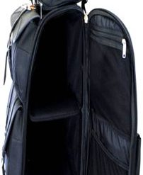 studded leather sissy bar bag review image