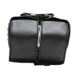 Studded motorcycle saddlebags for sale