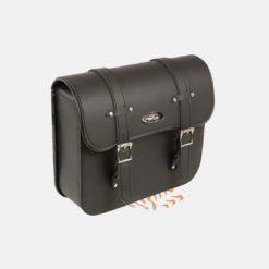 swing arm saddle bag