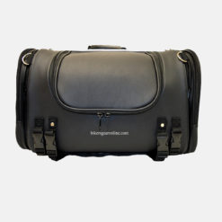 Travel trunk luggage bag black