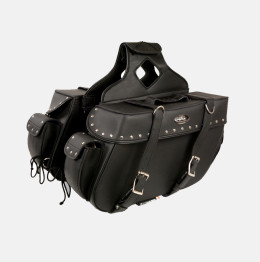universal motorcycle saddlebag