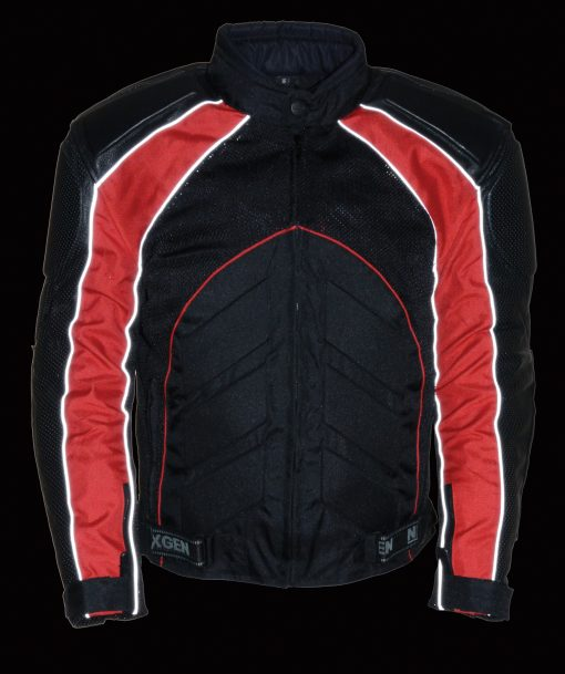 womens armored leather motorcycle jacket