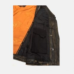 Womens Distressed Leather Jacket butter soft