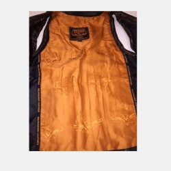 Womens Distressed Leather Jacket pure quality
