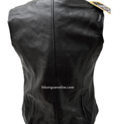 Women's Leather Motorcycle Jackets Vest
