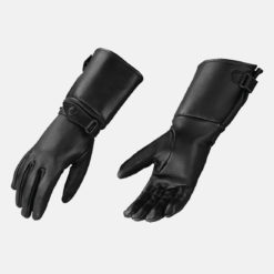 women's long leather gloves deerskin