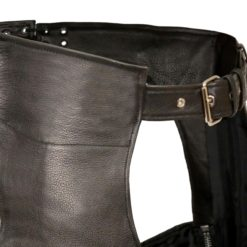 womens real leather pant
