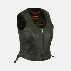 Womens Stylish Leather Vest