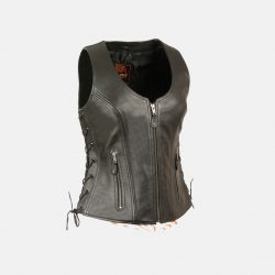 Womens Vest leather