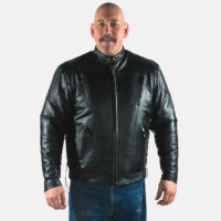 cowhide leather jackets