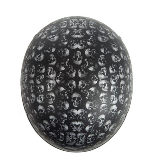 dot half helmet skull graphics