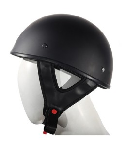 Flat Motorcycle helmet Dot