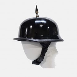 German spiked helmets