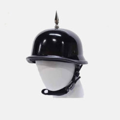 German spiked motorcycle helmet