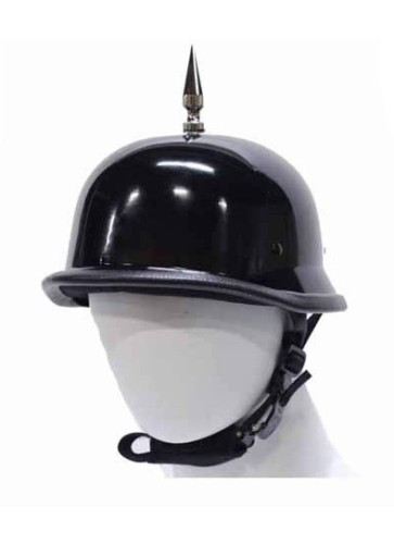 motorcycle helmet with spike on top