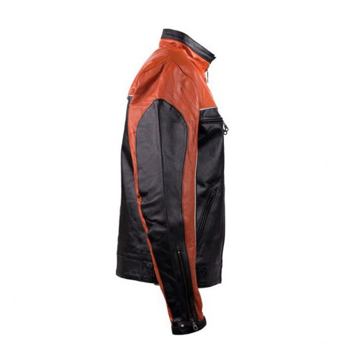 Orange Black Motorcycle Jackets
