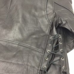 Police terminator jackets side laces