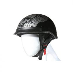 skull helmet dot approved