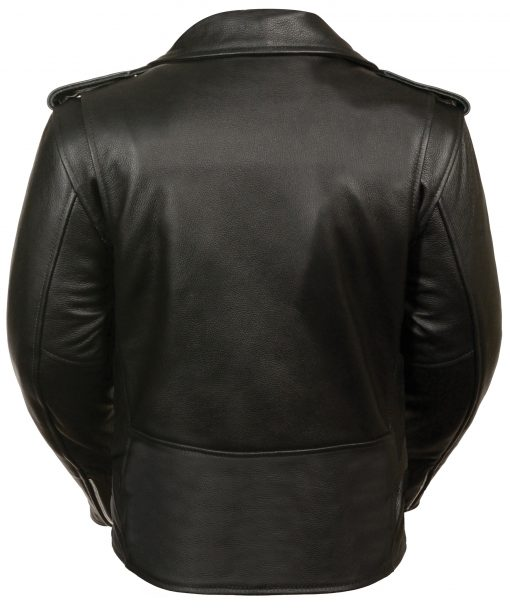 Traditional Leather jacket black