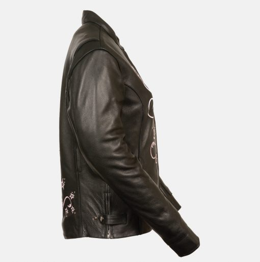 womens fashionable leather jackets