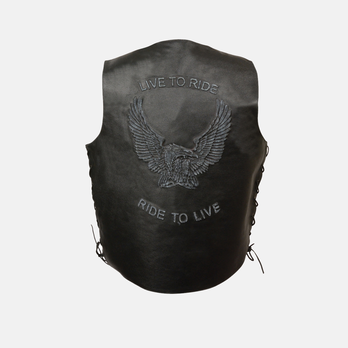 live to ride motorcycle vest