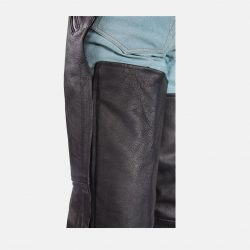 Leather Motorcycle Chaps and Pants black