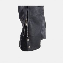 Men's Plains Leather Motorcycle Chaps