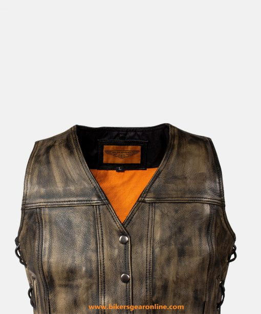 Womens Distressed Leather Jackets
