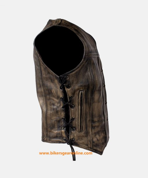 womens distressed vest