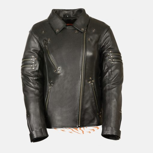 Womens fitted Leather Jacket