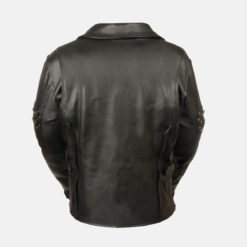 womens fitted leather jackets