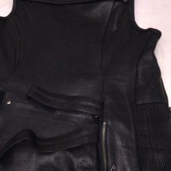 womens leather motorcycle jackets black