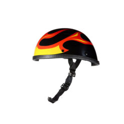 3d flame novelty helmet
