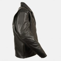 Beltless Motorycle Leather Jacket