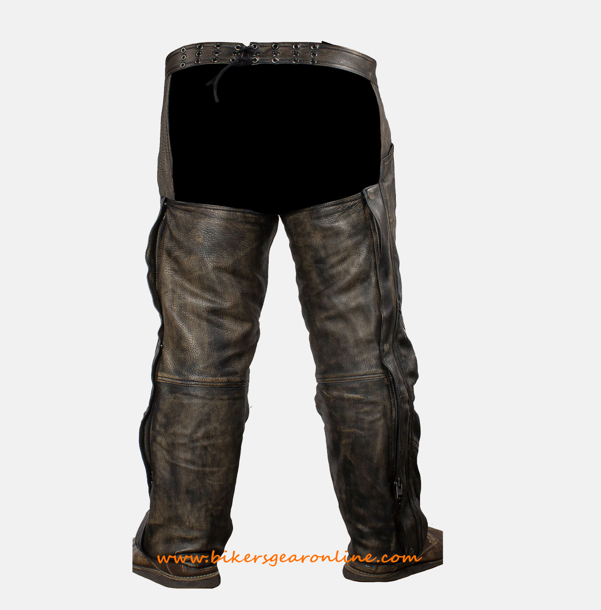 biker pants motorcycle chaps brown
