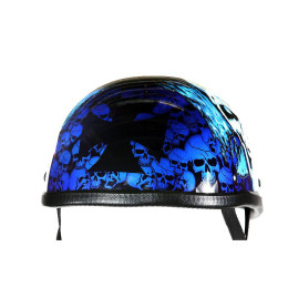 Blue Eagle Biker Helmet
