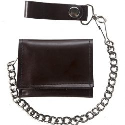 Brown Motorcycle Chain Wallets