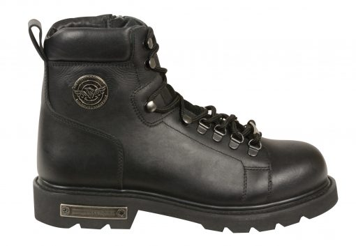cheap leather motorcycle boots