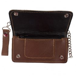 Cool Leather Motorcycle Chain Wallets for Sale