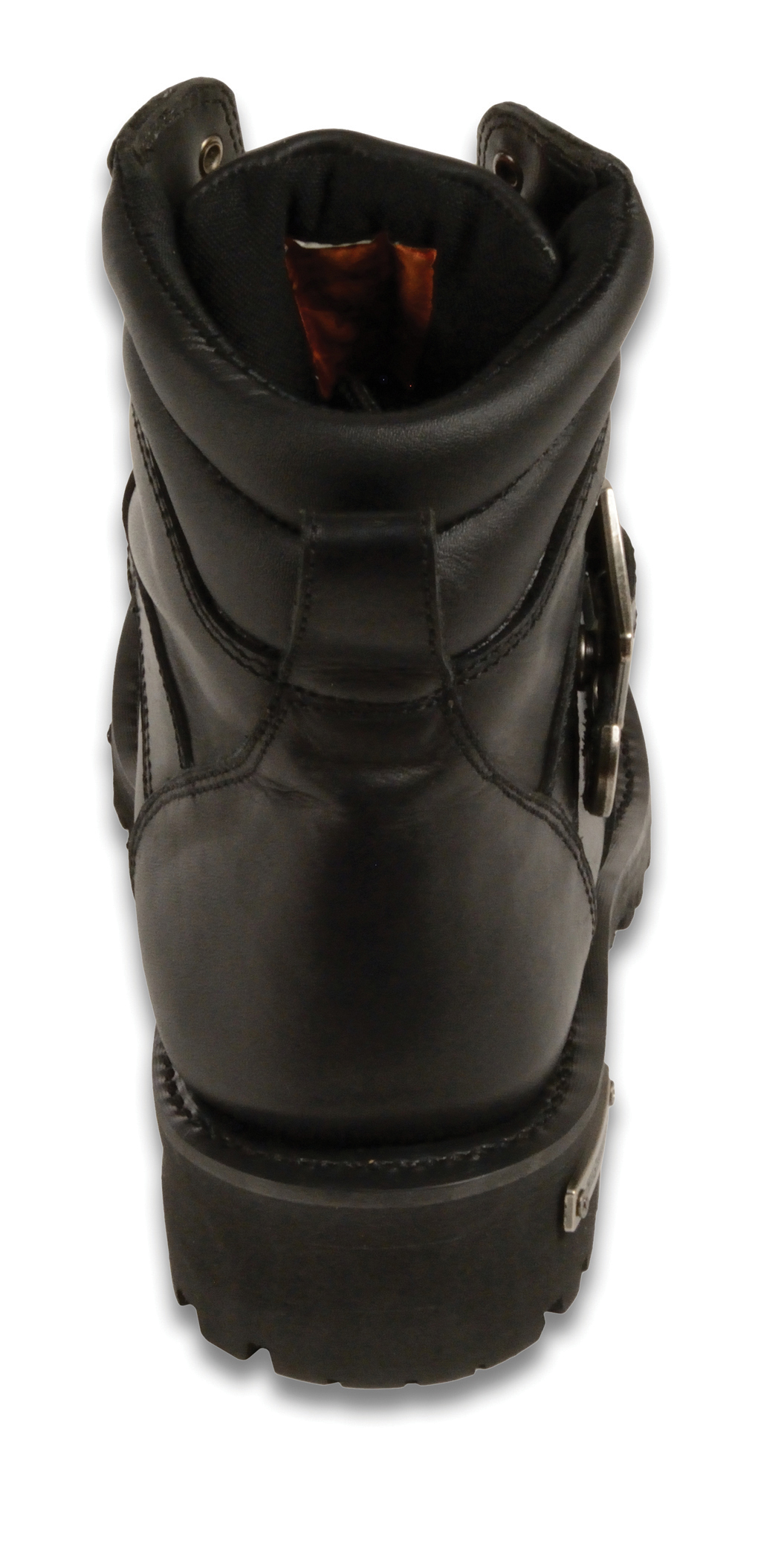 Full Face Cruiser Helmets >> MEN'S MOTORBIKE BOOTS REAL LEATHER 6 INCH SIDE BUCKLE BOOT - Bikers Gear Online USA