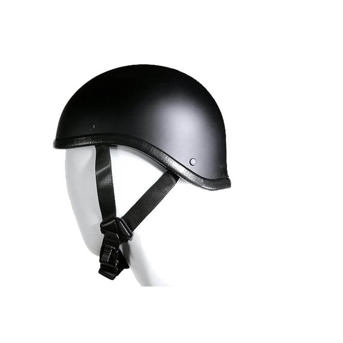 Motorcycle Flat Black Gladiator Novelty Motorcycle Helmet With Spikes New