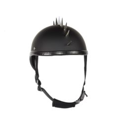 German motorcycle helmet with spike