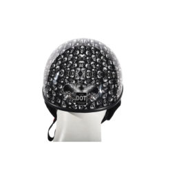 lowest profile dot helmet black