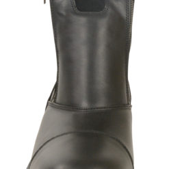 mens side zip motorcycle boots