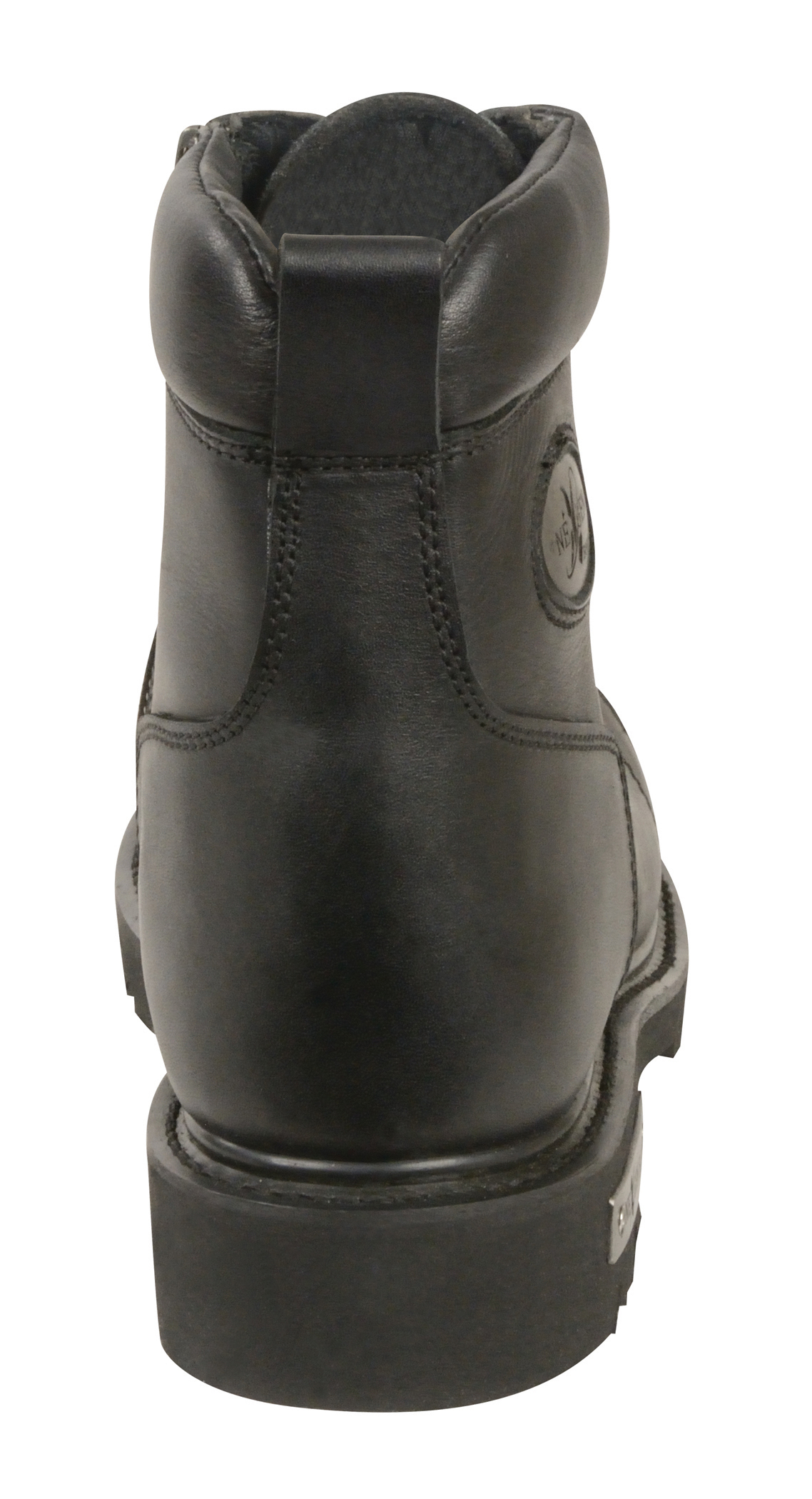 motorcycle black leather boots